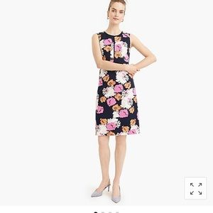 Jcrew Portfolio dress in petunia print